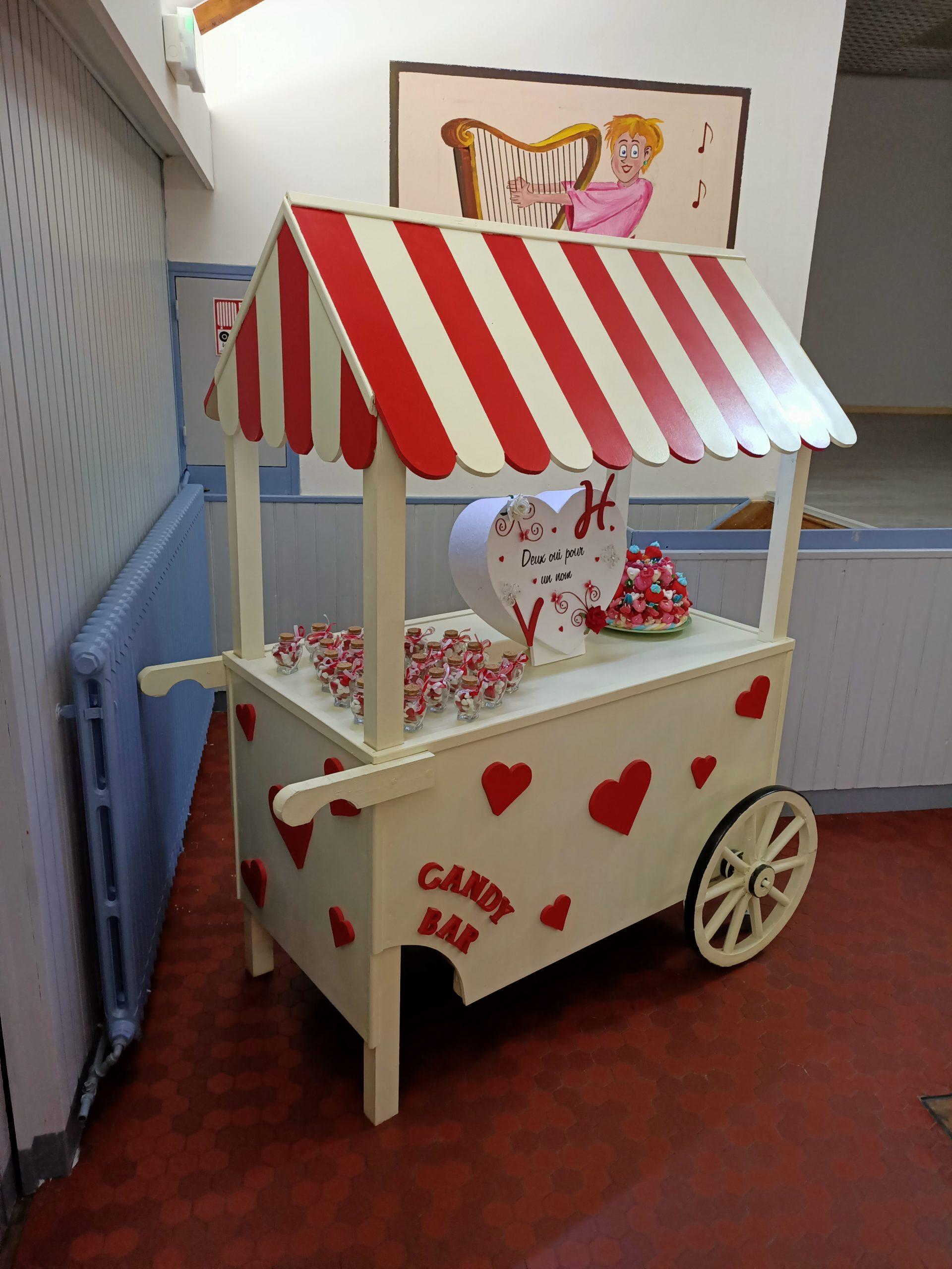 Candy Bar à la location